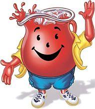 Photo of the Kool-Aid Man.