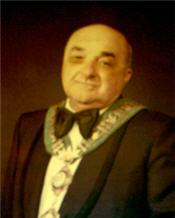 The Mayoral portrait Of Walter Assef, the new undisputed champion of city council Meetings.